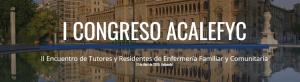 I Congreso Asociación Castellano Leonesa de Enfermería Familiar y Comunitaria @ PALACIO DE CONGRESOS CONDE ANSÚREZ Sala CARDENAL MENDOZA