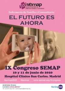 IX Congreso SEMAP (Sociedad Madrileña de Enfermería Familiar y Comunitaria) @ Hospital Clínico San Carlos