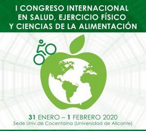I CONGRESO INTERNACIONAL EN SALUD, EJERCICIO FÍSICO Y CIENCIAS DE LA ALIMENTACIÓN @ Sede Universitaria de Cocentaina. Centro Cultural El Teular
