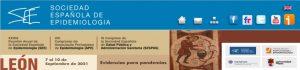 """XXXIX Reunión Anual Científica de la SEE – XVI Congresso APE – XIX Congreso SESPAS. León 2021.  """"Evidencias para pandemias"""""""