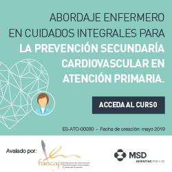 Curso Abordaje Enfermero en Cuidados Integrales para la Prevención Secundaria Cardiovascular en Atención Primaria