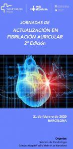 Jornada de Actualización en Fibrilación Auricular, 2ª Edición @ Hospital Universitari Vall d'Hebrón
