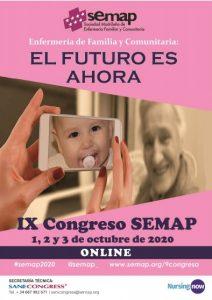 IX Congreso SEMAP (Sociedad Madrileña de Enfermería Familiar y Comunitaria) pospuesto para Octubre 2020 @ Hospital Clínico San Carlos
